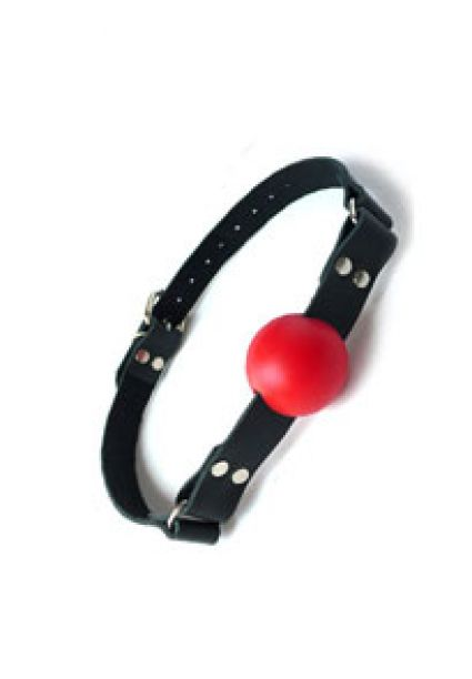 1.25 inches Red Ball Gag