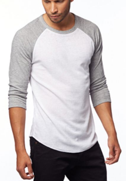 Burnout Thermal Baseball Tee