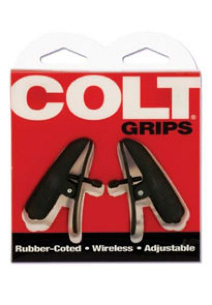 Colt Grip Vibrating Nipple Clamps