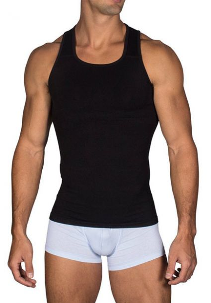 Compression Tank Top Black