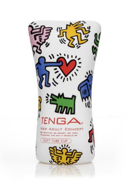Soft Tube Cup Keith Haring Edition