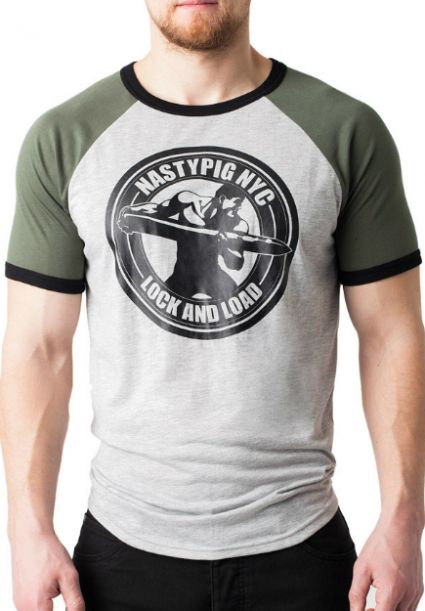 Lock & Load T-Shirt Army Green