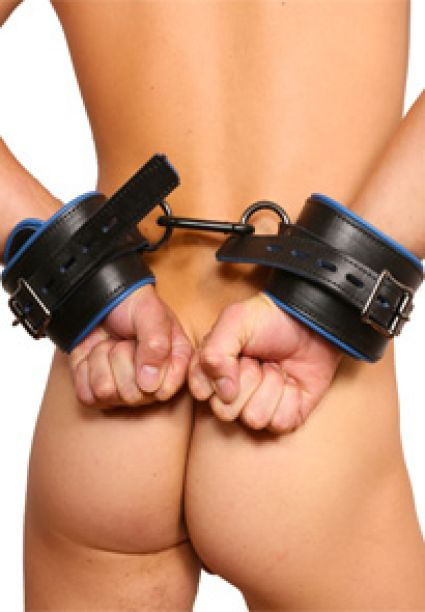 Padded Leather Handcuffs