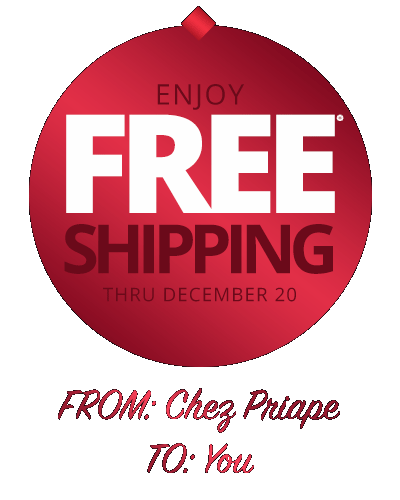Free Shipping for the Holidays!