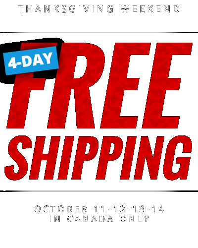 4-DAY FREE SHIPPING WEEKEND